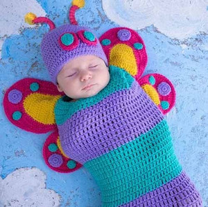 Knitted cocoon