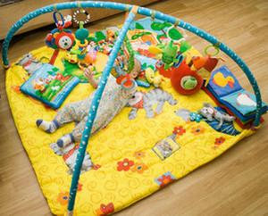 Как сделать самим развивающий коврик для малышей
