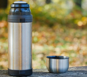 Open thermos