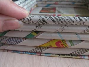 Скрученые газеты