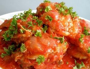рецепт чахохбили из курицы с картошкой в мультиварке