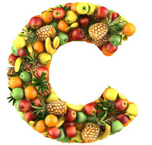 Fruit in the form of vitamin C
