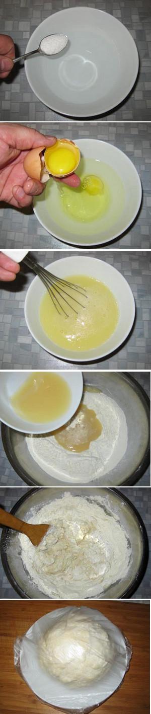 тесто для пельменей домашних пошаговый рецепт