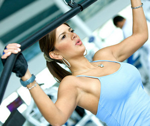Exercises with a barbell