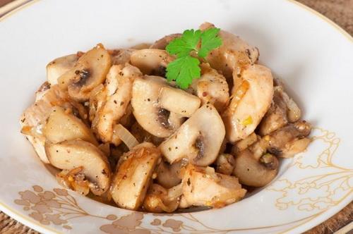 Как сделать вкуснее грибы с картошкой в