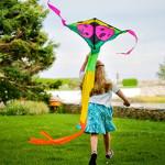 Как самим сделать красивого воздушного змея?