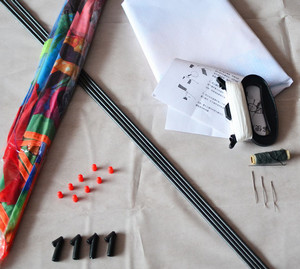 Materials for the manufacture of kite