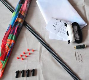Материалы для изготовления кайта