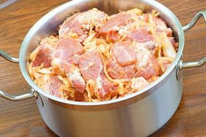 Pork in the pan