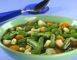 Vegetable Soup with Green Beans