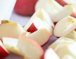 Sliced Red Apples