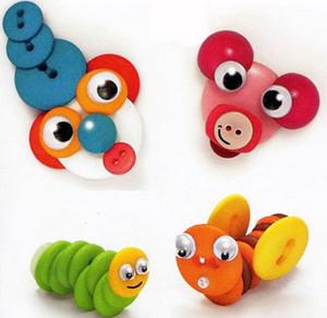 Color Button Animals