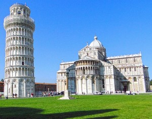 Leaning tower of leaning