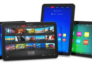Several different tablets