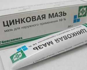 Zinc ointment