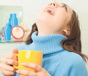 Полоскание содой и солью при беременности