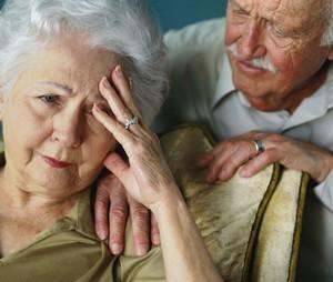 Старческий психоз у бабушки