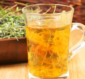 Herbal decoction yellow