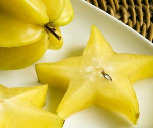 Sliced Carambola Fruit