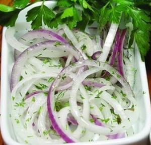 Фиолетовый лук рецепты