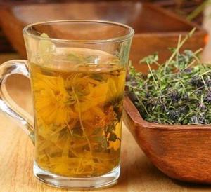 Herbal infusion of hellebore