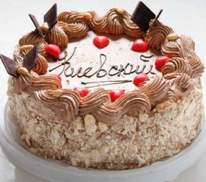 видео рецепт киевского торта