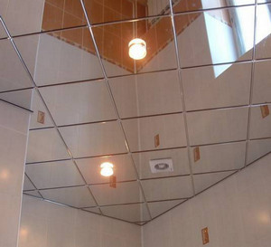 Tiled Mirror Ceiling