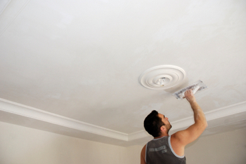 DIY ceiling repair