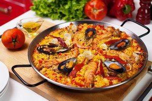 Паэлья с морепродуктами
