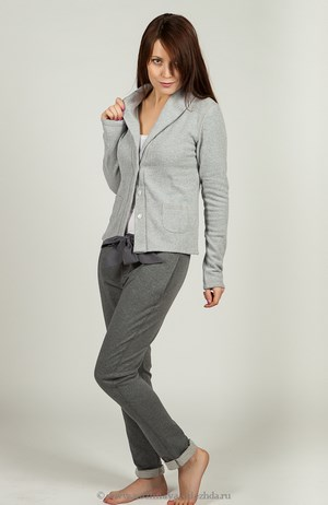 Gray homemade costume on a girl