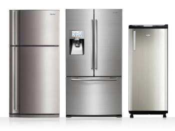 three types of refrigerators