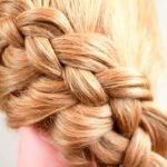 Four-strand braid - for the beauty girl!