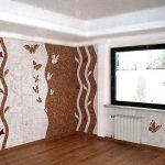 Cork coating in the interior