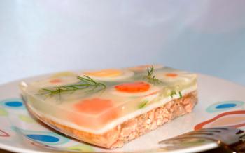 fish aspic, the best recipes