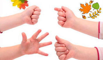 Finger games for kids up to a year