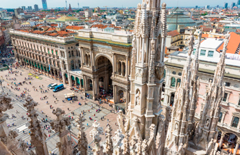 The main attractions of Milan