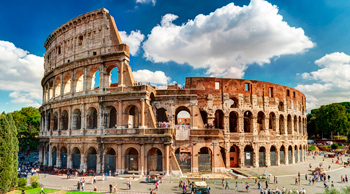 Colosseum in Rome, history