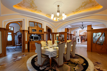 Neo-Russian style with modern