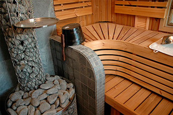 Why do you need a sauna in the apartment in the bathroom