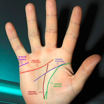 palmistry - line of marriage in the palm of your hand