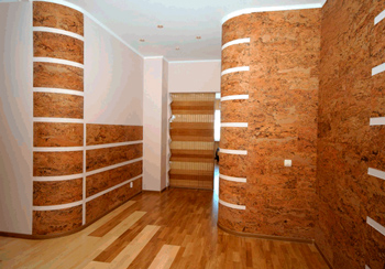 cork for walls, the benefits of finishing