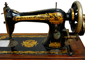 manual sewing machine zinger