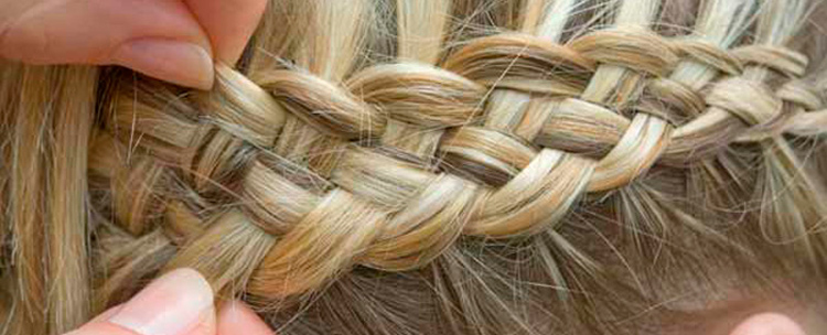 how to weave a braid from 4 strands