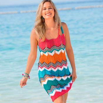 beautiful summer crochet sundress