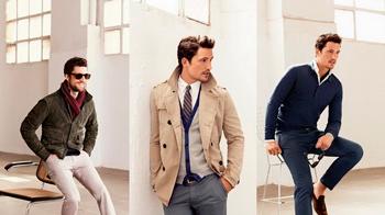 Stylish men's lookbook