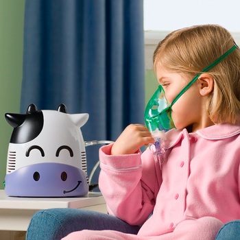 Choosing a beautiful inhaler for children from cough and rhinitis