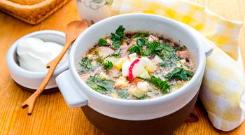 okroshka kvass recipe