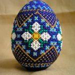 Пасхальные яйца в бисере – красивые подарки к светлому празднику