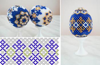 пасхальные яйца из бисера, материалы для плетения