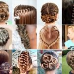 Trendy and stylish hairstyles for school